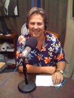 Mtchell Jay Rabin in the radio studio